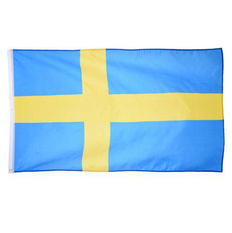 Unique Fans Games Swedish Flag on The 4TH 90 x 150CM