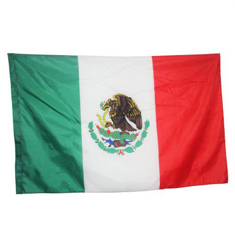 Trendy Fans Games Mexican Flag on The 4TH 90 x 150CM