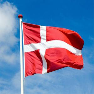 Fans Games Danish Flag on The 4TH 90 x 150CM -