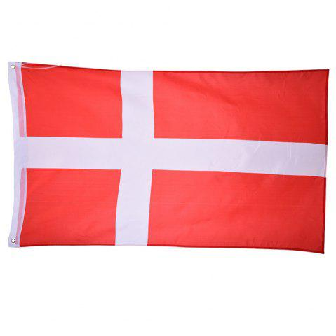 Outfit Fans Games Danish Flag on The 4TH 90 x 150CM