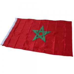 Fans Games Moroccan Flag on The 4TH 90 x 150CM -