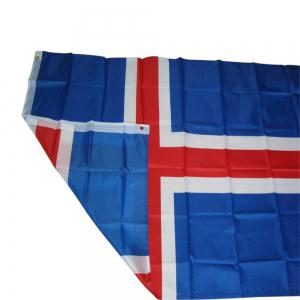 Fans Games Iceland Flag on The 4TH 90x150CM -