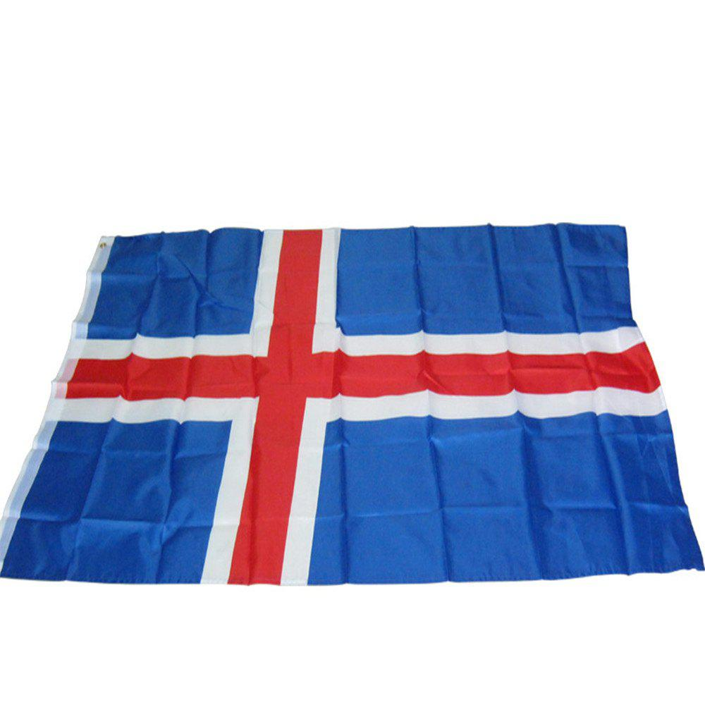 Sale Fans Games Iceland Flag on The 4TH 90x150CM