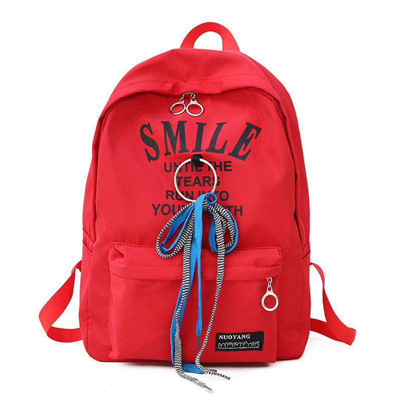 Discount Waterproof Drawstring Letter Large Capacity Backpack