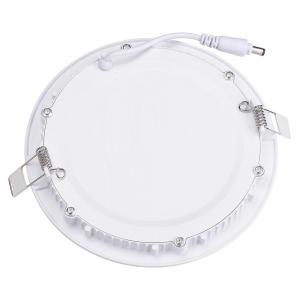 12W Dimmable Round Flat LED Panel Light Lamp Ultra-thin LED Recessed Ceiling Light 5PCS -
