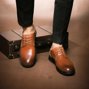 Hommes Casual Wear Chaussures en cuir Outsole -