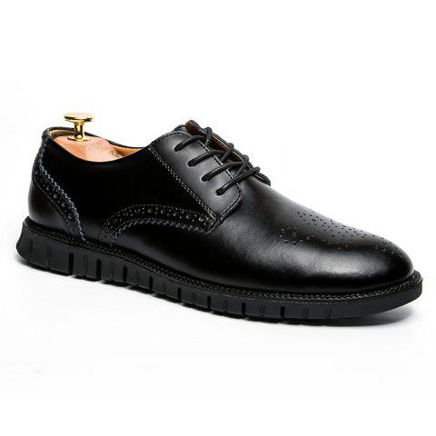 Hommes Casual Wear Chaussures en cuir Outsole