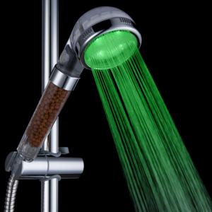 BRELONG Anion LED  SPA Color Discoloration Shower Head -