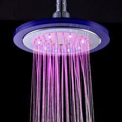 BRELONG LED Colorful Top Spray 8-inch Luminous Color Change Shower -