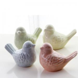 Ceramic Cute Bird Decorations Creative Home Supplies Multiple Color -