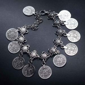 High-end Fashionable Vintage Style Metal Coin Tassel -