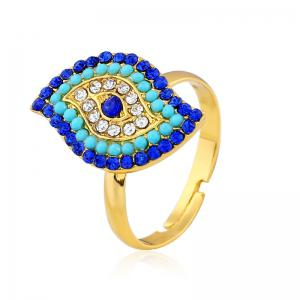 Stylish and Elegant with Diamond Adjustable Ring -