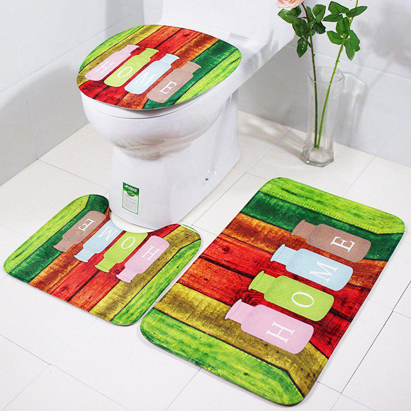 Sale RB035Three Pieces of Slippery Cushion for Toilet Toilet Cushion in Bathroom and Toilet