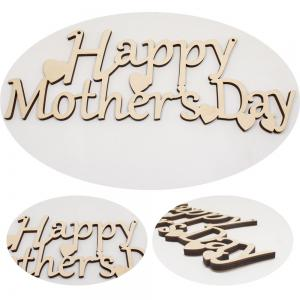 Mother Festival Wood Crafts Decoration Hanging Board -