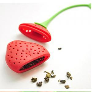 Strawberry Silicone Tea Bag -