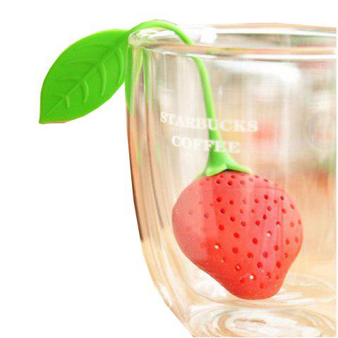 New Strawberry Silicone Tea Bag
