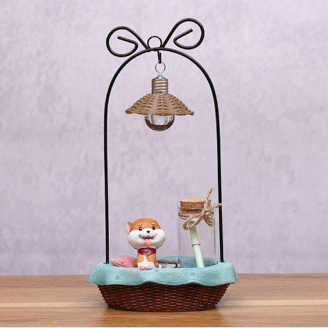 Store Creative Cartoon Cute Shiba Inu Night Light Crafts Ornaments