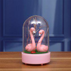 Nouvelle décoration étrange Star Flamingo Star Light -