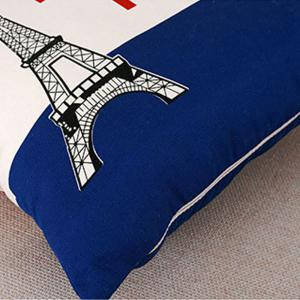 Home British Wind Flag Cloth Pillowcase -