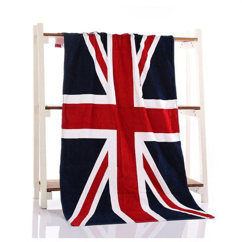 Fancy Fashion Flag Beach Printing Bath Towel