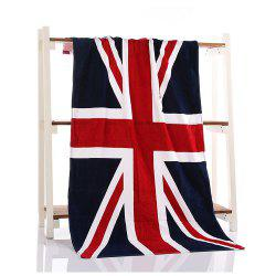 Fashion Flag Beach Printing Bath Towel -