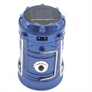 Camping Lantern LED Outdoor Lighting Folding Camp Tent USB Rechargeable -