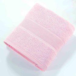 New Pure Color Jacquard Nature Cotton Square Hand Towel -