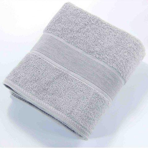 Shop Solid Color Soft Cotton Face Towel For Adults Thick Bathroom Super Absorbent