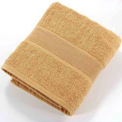 Solid Color Soft Cotton Face Towel For Adults Thick Bathroom Super Absorbent -