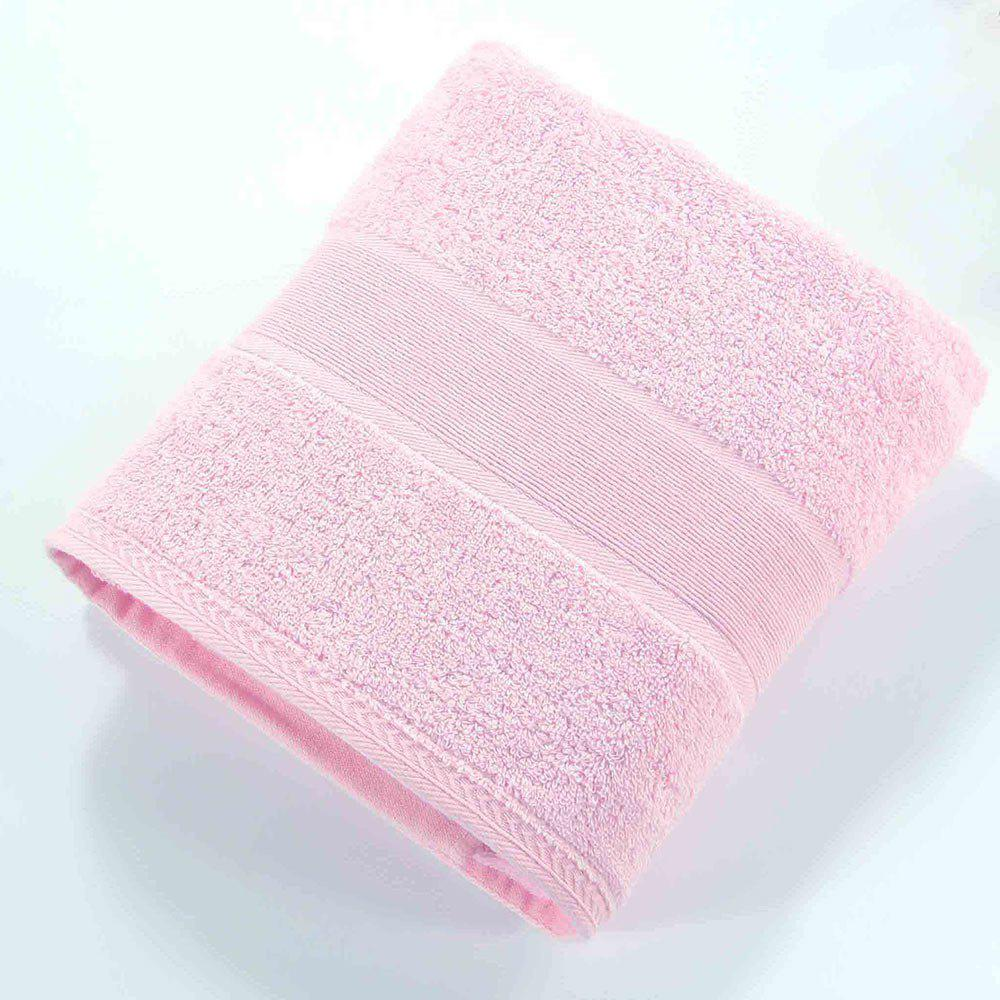 Affordable Cotton Solid Bath Towel For Adults Fast Drying Soft Thick High Absorbent