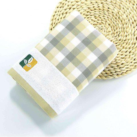 Store Fashion Gauze Bath Towel Grid Pattern Wash Towel Home Bathroom and Travel Cotton Washcloth
