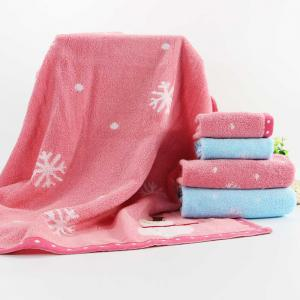 Soft Cotton Face Hand Square Towel for Children Adult Snowflake Snowflake Sports Camping -