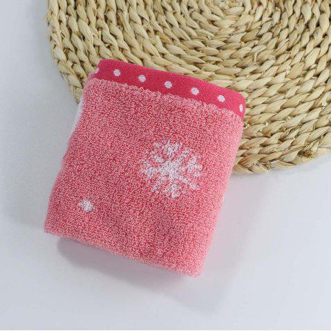 Outfits Soft Cotton Face Hand Square Towel for Children Adult Snowflake Snowflake Sports Camping