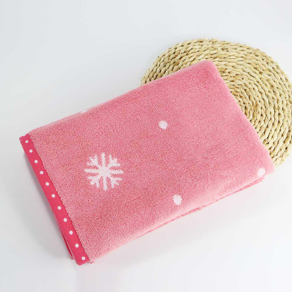 Shops Soft Cotton Face Hair Towel for Children Adult Snowflake Snowflake Sports Camping