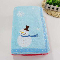 Soft Cotton Bath Towel for Children Adult Snowflake Snowflake Sports Camping -