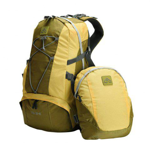 Online PolarFire Backpack Set 40L Water-Resistant Anti-Tearing Outdoor Bag for Camping Hiking Travelling