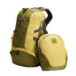 PolarFire Backpack Set 40L Water-Resistant Anti-Tearing Outdoor Bag for Camping Hiking Travelling -