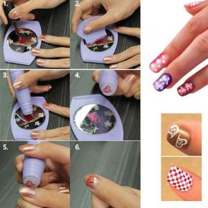 Nail Tool for Fashion Fingernail Printing -