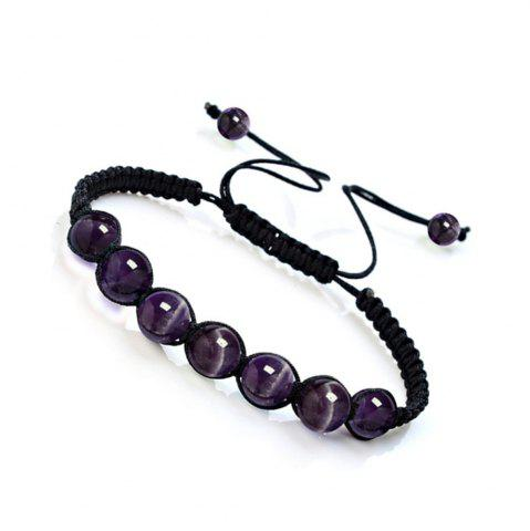 Модная энергия Natural Crystal Tiger Eye Stone Handcraft Bracelet Jewelry Woman