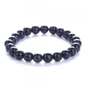 Fashion Minimalist Blue Sandstone Sky Bracelet Woman Jewelry -