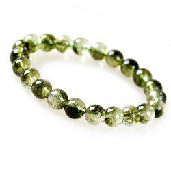 Fashion Simple Natural Green Crystal Bracelet Woman Jewelry -