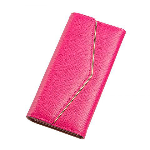 Affordable Baellerry Women's Trifold Long Purse Casual Wallet Hand Bag Credit Card Holder