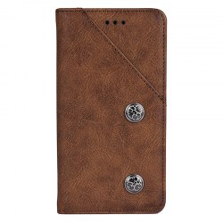 Vintage Grain PU Leather Case for Elephone P8 -