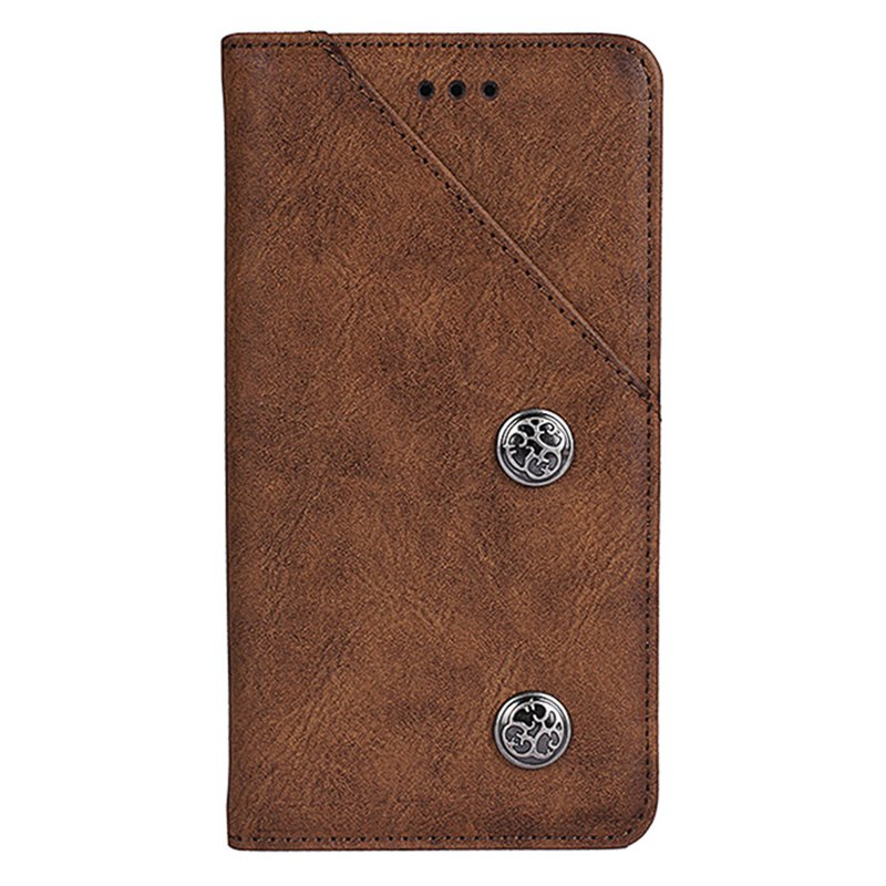 Sale Retro Grain PU Leather Case for Elephone P8