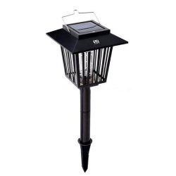 YWXLight Outdoor Solar Mosquito Killer Lamp 3 LED Hanger Fly Insect Repellent Lamp Lawn -