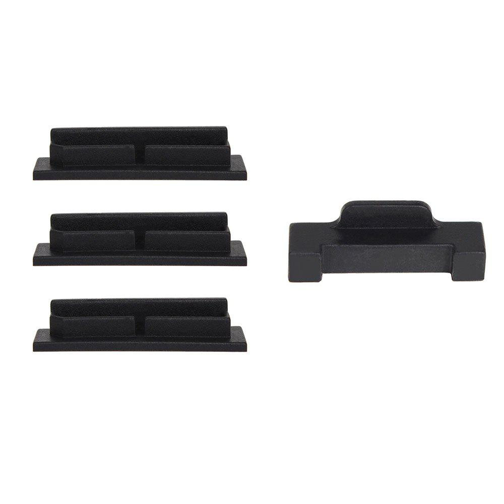Fashion Drone Body Battery Charging Port Protector Silicone Cover Dustproof Plug for DJI MAVIC AIR 4pcs/set