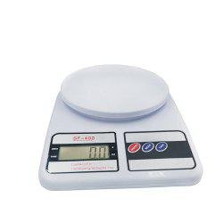 Digital Kitchen Scale for Cooking and Baking with 10 KG Capacity 1G Accuracy -