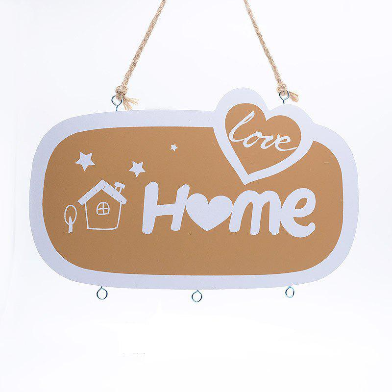 Hot Nordic Style Wooden Hydroponics Decorative Pendant Wind Chimes Children Room Wall Hanging Decoration