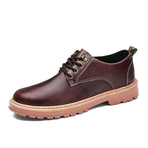 Cheap Simple Breathable Formal Casual Shoes For Men