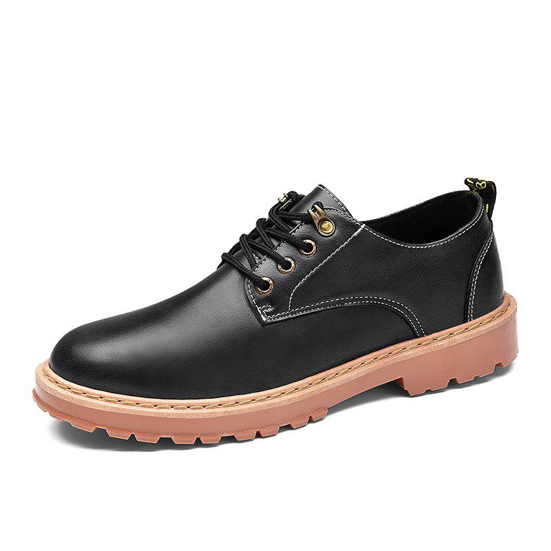 Online Simple Breathable Formal Casual Shoes For Men